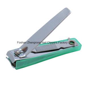 Midden Best-Selling Aangepast Koolstofstaal met Kleurrijke Plastic Clipper van de Spijker van de Dekking (608BS)