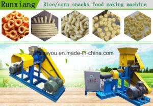 穀物の軽食は吹き膨脹させる食糧押出機の処理機械(WSPH)を