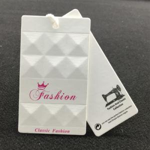 China fábrica de productos de mejor calidad de impresión de etiquetas personalizadas de papel cuelgue