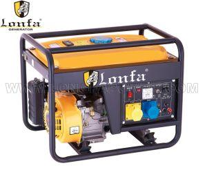 3kw 7HP Lantop 디자인 휴대용 침묵하는 가솔린 발전기 홈 사용