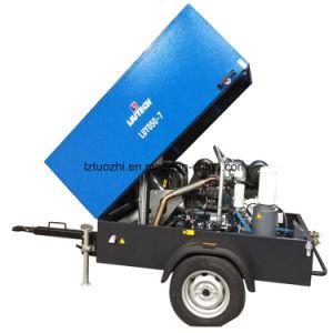 Kubotaエンジン179cfmの発破機械のための携帯用ディーゼル空気圧縮機
