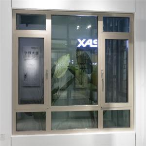 Nuevo diseño salto térmico de vidrio de ventana de aluminio