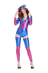 Les femmes sexe cosplay costume Lingerie Lingerie Sexy femmes Spider Hero