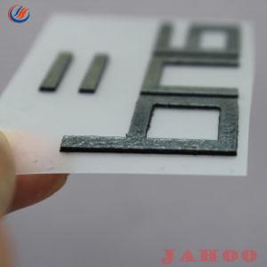 A impressão de tela personalizado 3D Espessura Etiqueta de Transferência de Calor de borracha de silicone Colar etiquetas
