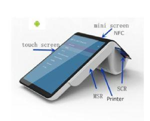 Tablette Positions-alle Maschine mit mobilem Thermodrucker Positions-Terminal in einem liefern freies Sdk PT7003