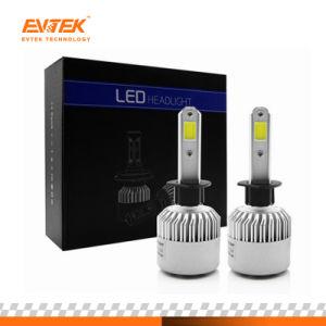 オートバイのヘッドライトLEDの穂軸LEDライトが付いている高い内腔の/Power S2 H1 4000lm LED車のヘッドライトの球根LED