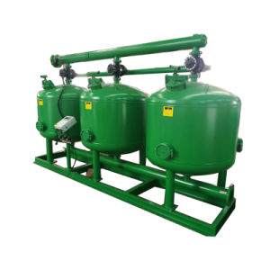 Промышленных сточных вод быстрого песок давления фильтра