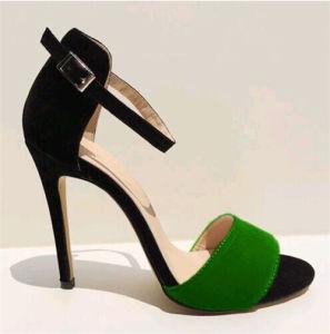 Dernière mode haut talon Mesdames sandales