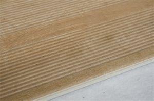 Druk van Inkjet van de Decoratie niet van de Misstap verglaasde de Buitensporige 3D Houten Tegel