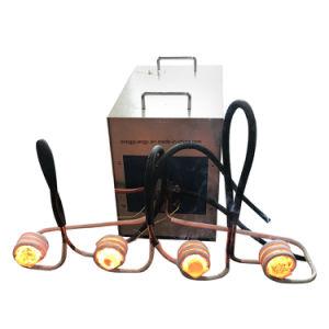 棒の鋼鉄鍛造材のための高性能の誘導加熱装置