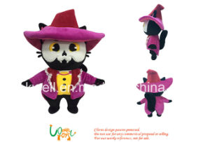 Doll van de Kat van de pluche Dierlijk met Laag voor het Speelgoed van Jonge geitjes of PromotieGift