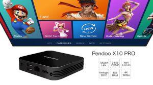 Pendoo X10 PROS912 3G32g androider Xbmc völlig einprogrammiert Vierradantriebwagen-Kern 1080P Media Player