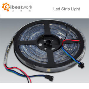 riga indicatore luminoso dei pixel DC12V RGB DMX512 IP65 di 60PCS/M LED 14.4W 20