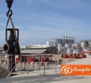 Pompa verticale della turbina dell'acqua di mare dell'asta cilindrica lunga corrosiva dell'acqua