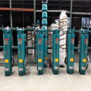 Pompa ad acqua sommergibile centrifuga elettrica del pozzo profondo dell'acciaio inossidabile del ghisa di drenaggio di irrigazione