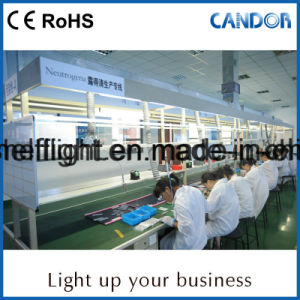 Indicatore luminoso della mensola del consumo LED di potere basso con V-Tipo fragile disegno