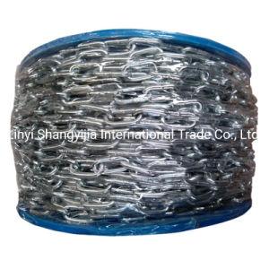 Российский рынок Оцинкованные DIN766 короткое замыкание цепи канала DIN763 долго звено цепи
