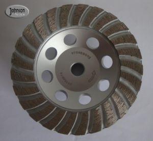 Od115mm Diamond Turbo Copa de moagem de pedras da Roda