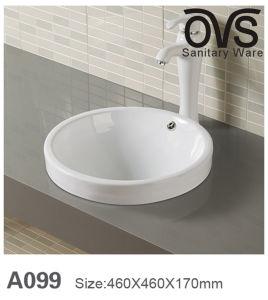 Bestes Qualitätsbadezimmer-Eitelkeits-Schrank-Bassin-Oberseite-Bassin Sanitaryware