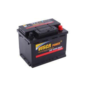 Libre de mantenimiento 55559 Batería de coche 12V 55Ah DIN (MF55) el poder de Visca fábrica de baterías selladas de plomo ácido oferta