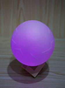 Indicatore luminoso reale di notte di stile LED dell'uovo del primo Lanciare-Vinile globale con la ricarica del USB di telecomando di 16 colori