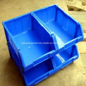 Entrepôt de pièces de rechange en plastique empilables de la trémie de stockage