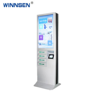 Freie stehende Handy-Ladestation-Ladung-Kiosks