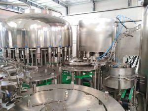 Remplir de liquide de boissons l'eau potable embouteillée usine d'embouteillage de A à Z
