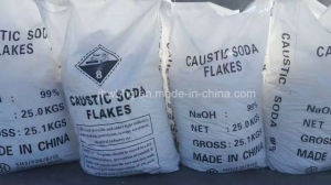 Alta calidad de la sosa cáustica escamas para el teñido de textiles y de Factory