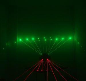 段階の軽い魔法の球16PCS 3W LED 3in1レーザーの移動ヘッドライト