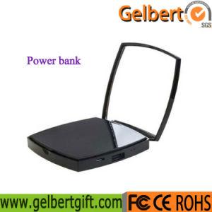Nuevo espejo portátil Teléfono Móvil Banco de potencia con RoHS