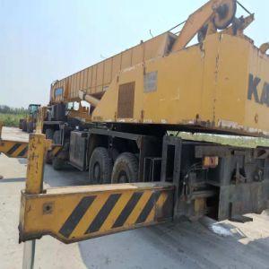 Gru originale del camion utilizzata il Giappone del macchinario di costruzione di Kato 70tons Nk700e