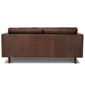 Design moderno mobiliário Leathaire sofá de casa (SF-4025)