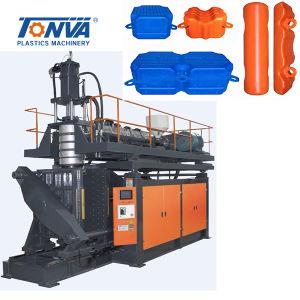 Plastikponton-sich hin- und herbewegender Produktions-Strangpresßling-Blasformen-Maschinen-Druckspeicher-Typ