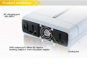 42ah AC 500W UPS on-line portátil Bateria de backup com inversor de energia solar e USB 5V CC 12 V AC 110-240V de alimentação ininterrupta