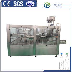 Frasco de pequenos equipamentos de engarrafamento de água automático/embaladora de Enchimento