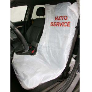 Promoción desechables Fundas de coche de plástico de PE