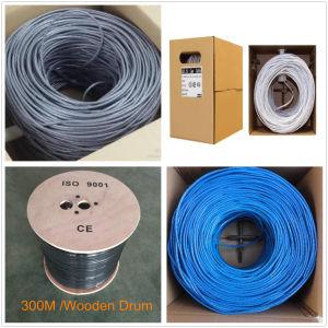 4 pares de red UTP CAT5 CAT 5e6un cable Cat7 RJ45 Cable LAN