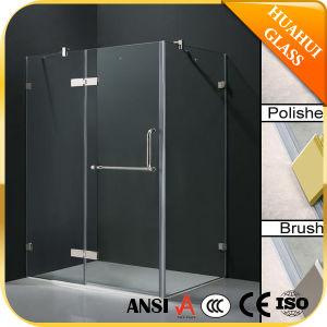 Vidrio templado de alta calidad de bisagra de la cabina de ducha de receptáculo de ducha