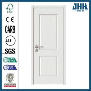 Primer branca de núcleo oco interior da porta de madeira maciça de madeira (JHK-017)