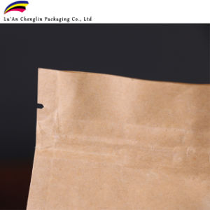 Reciclable/Bio-Degradable té desechable bolsas Kraft con cremallera