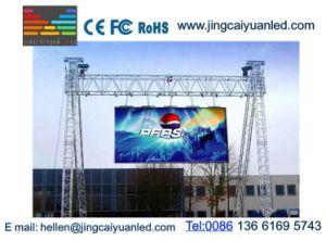 Deportes al aire libre sala plena de la pantalla LED de color