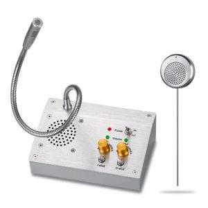 Banco del Sistema Intercom Koontech ventana doble forma de intercomunicación contador