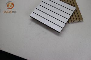 La réduction du bruit du bois rainuré Panneau acoustique