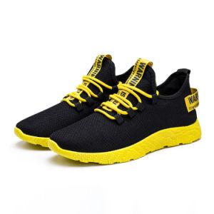 Los hombres a pie de la moda deportiva transpirable zapatos Zapatillas casual zapatillas de deporte al aire libre para caminar