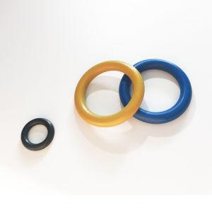 O anel de borracha da vedação de óleo hidráulico da válvula de Silicone peças em forma especial