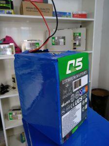 24V70AH перезаряжаемый литиевый аккумулятор