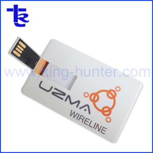 De collectieve Aandrijving van het Geheugen van de Flits van de Creditcard USB van de Gift Als PromotieGift van het Bedrijf
