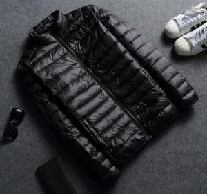 メンズ冬携帯用軽量のPocketableは薄くする100%のアヒルのジャケット(16133)を