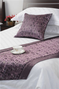 100% algodón tejido transpirable que satén Cama doble hoja (equipado/plano)